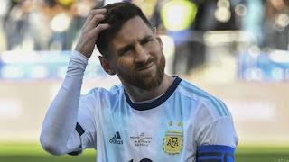 CONMEBOL Fines Messi💫 for Copa America Comments