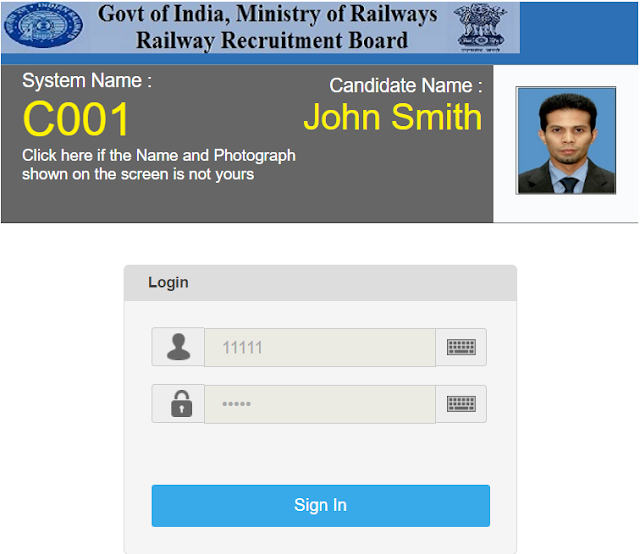 RRB Online Test Stage II, RRB Online Mock Test, Railway Online Mains Exam, RRB ASM, Goods Guard exam
