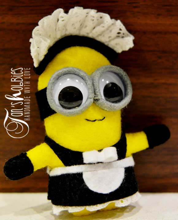 Minion Maid From Despicable Me Movie Tan S Hobbies