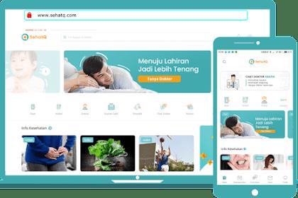 Kelebihan Platform Kesehatan Digital Online SehatQ.com