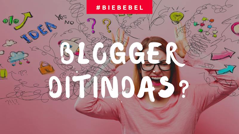 Penulis Blog adalah Golongan yang ditindas?