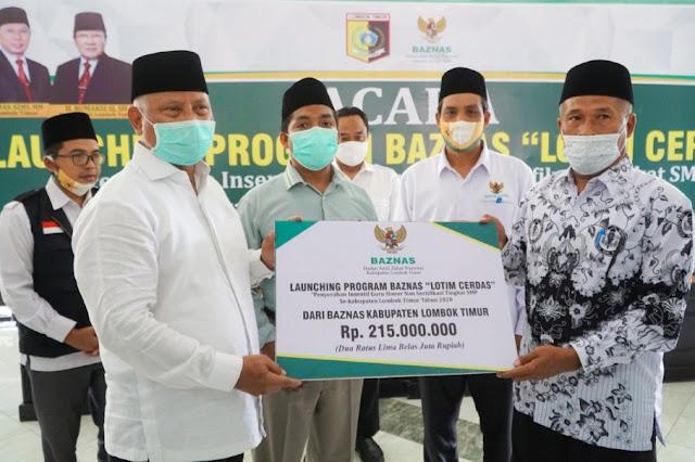 Launching Lotim Cerdas, insentif untuk 215 sekolah