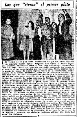 Los Que 'Vieron' El Primer Plato 7-13-1947