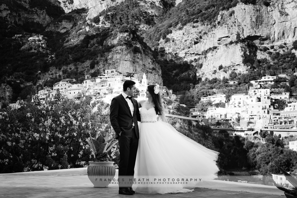 Wedding at Hotel Poseidon in Positano