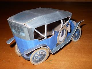 modelo coche clásico cadillac