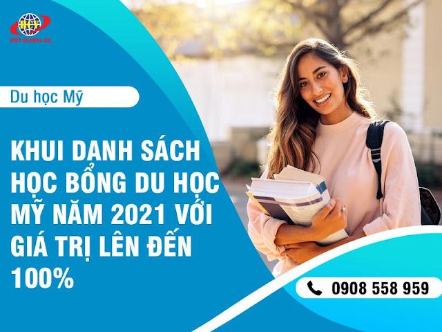 """Du học Mỹ: """"Khui"""" danh sách học bổng Mỹ năm 2021 giá trị up to 100%"""
