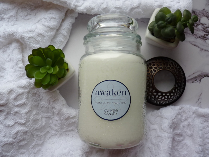 Yankee Candle AWAKEN 2020 Scent of the Year
