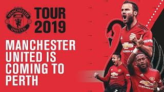 Jadwal Tur Pramusim Manchester United 2019 di Australia, Singapura, China dan Wales.