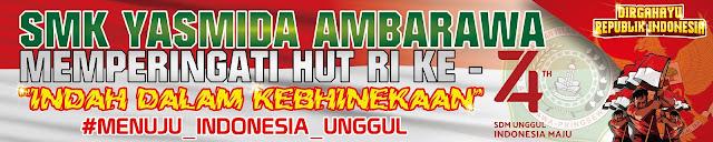 Desain Spanduk Karnafal SMK Yasmida Ambarawa 2019