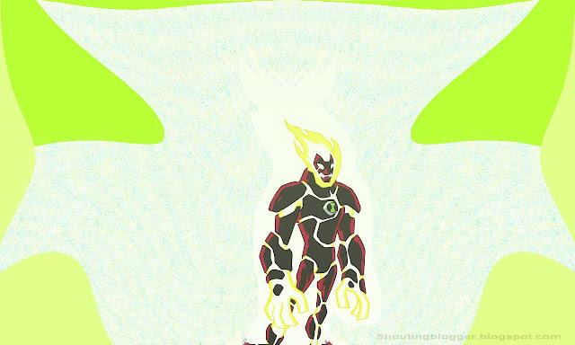 Ben 10 Omniverse Alien : HeatBlast