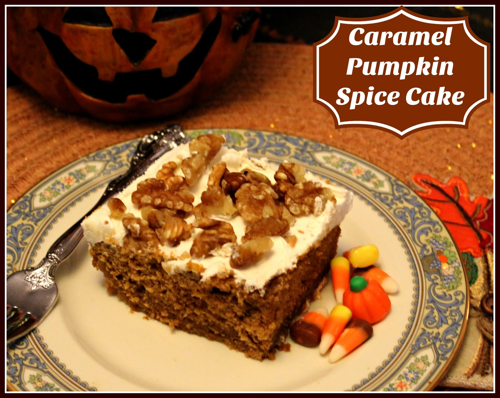This is a perfect Fall dessert and it would be wonderful for the ...