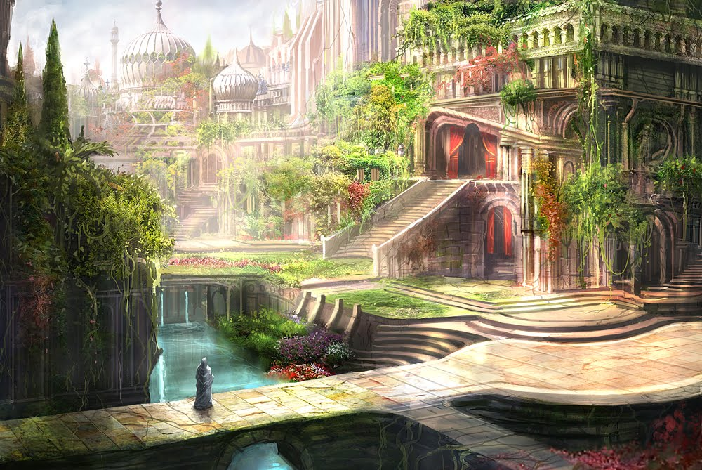 Hanging gardens of babylon wonders of our world pinterest - What are the hanging gardens of babylon ...