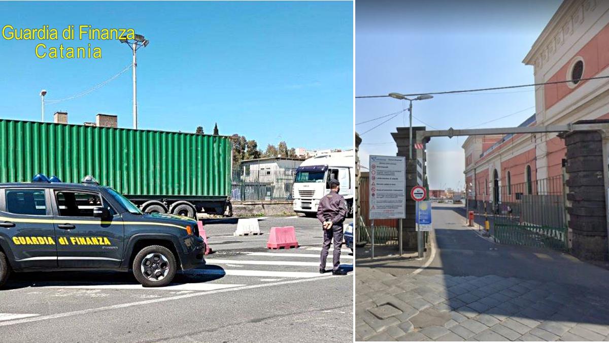 Guardia di Finanza Porto di Catania