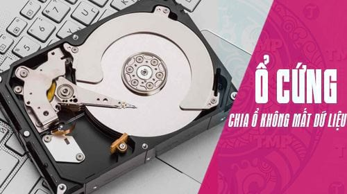 Hướng dẫn chia ổ cứng không mất dữ liệu, không dùng phần mềm