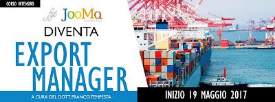 Diventa Export Manager