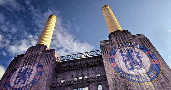 Estádio Stamford Bridge do Chelsea - Inglaterra