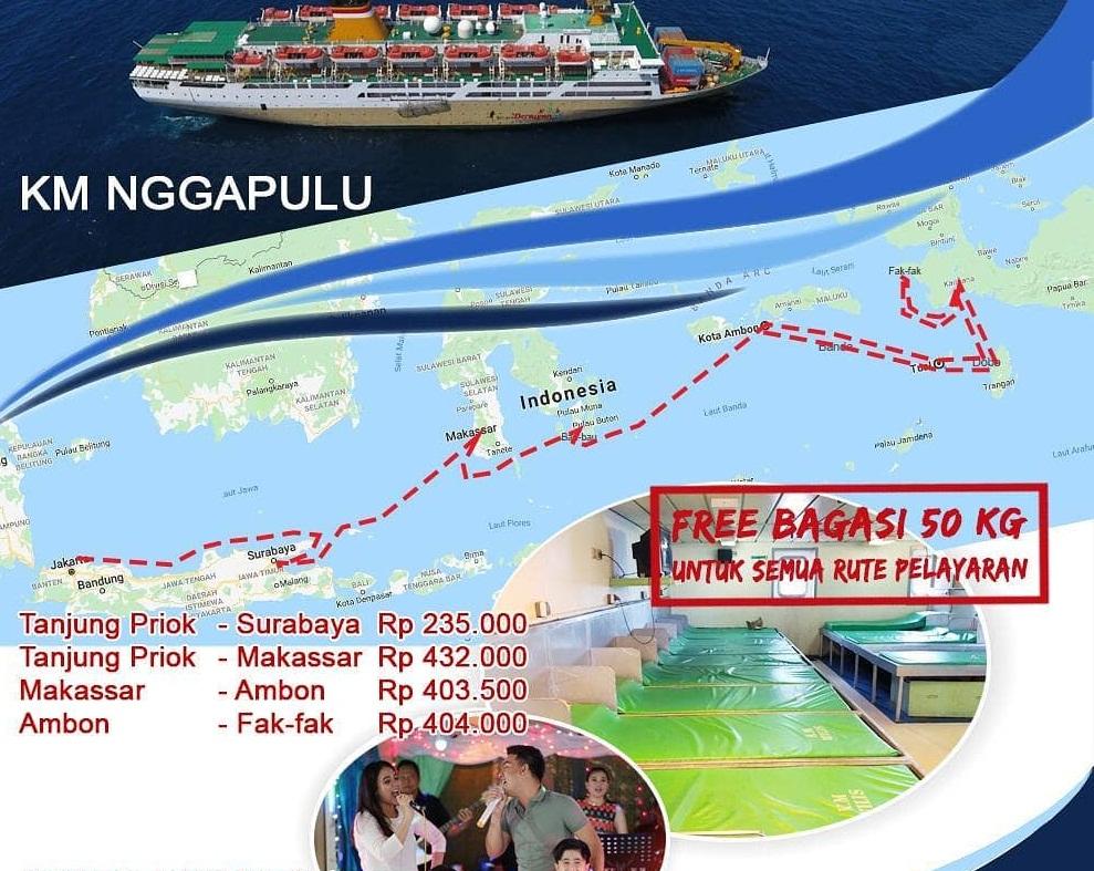 Jadwal Kapal Pelni Nggapulu Desember 2020 Harga Tiket