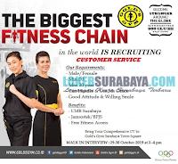 Walk In Interview di Terbaru di The Biggest Fitness Chain Surabaya Oktober 2019