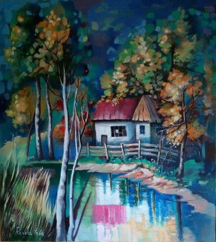 Болгарский художник. Reneta Isin