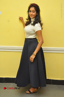 Telugu Actress Sindhu Affan Latest Pos in Black Skirt at Www.Meena Bazaar Movie Opening  0057.JPG