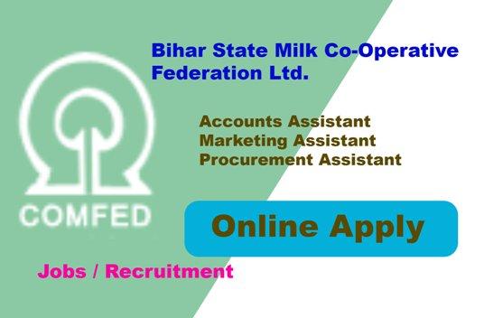 Bihar State Milk Co-Operative 142 Various Post Recruitment
