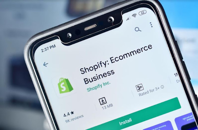 shopify top enterprise company united states