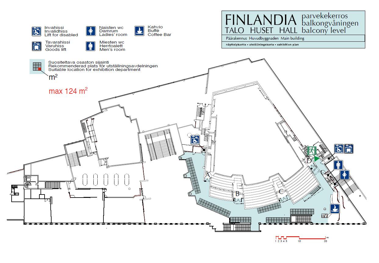 Diedrica Finlandia Hall