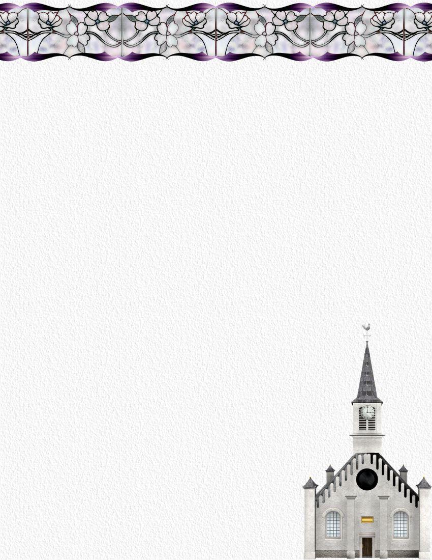 Download Church Letterhead Template Printable and Professional – Church Letterhead Template