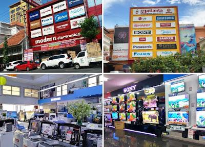 pusat belanja alat elektronik kota Semarang Jawa Tengah
