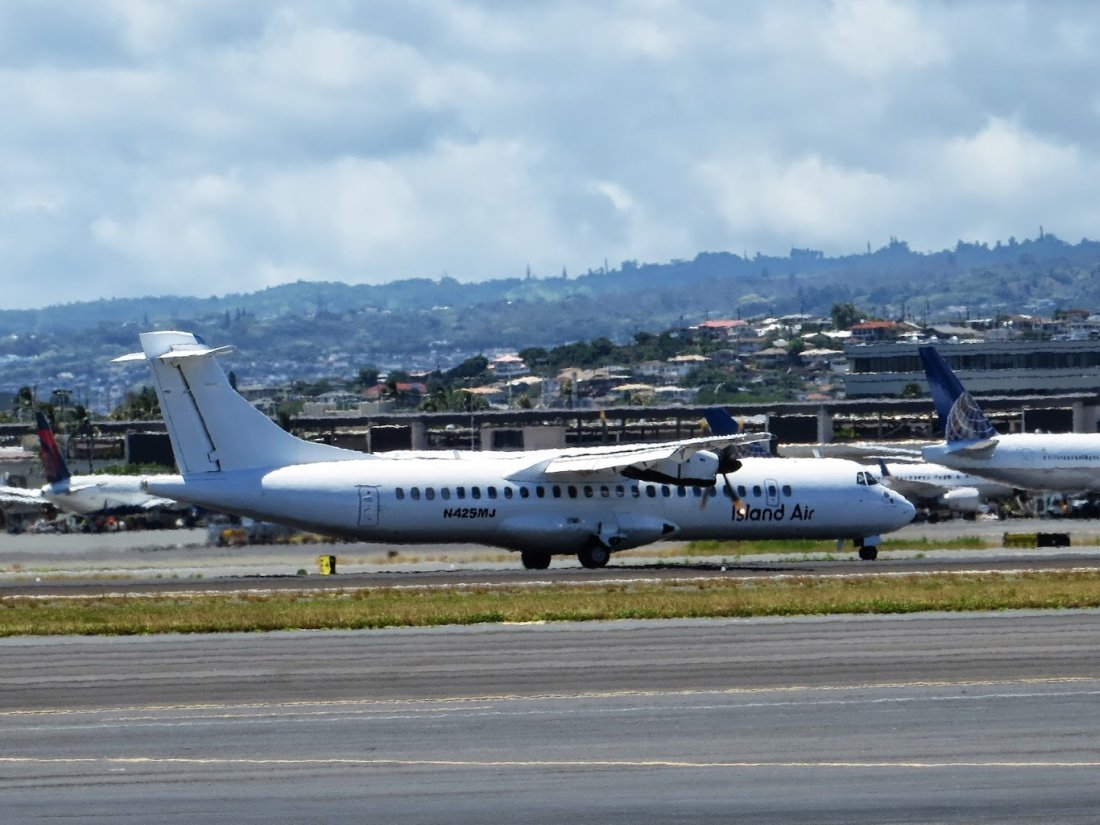 HNL RareBirds: Third ATR-72 Flying For Island Air