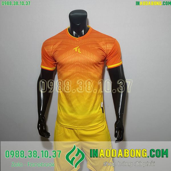 Áo không logo TL Rius màu cam