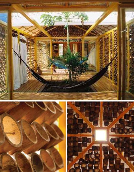 Arquitetando ideias casa em bambu na costa rica - Bamboo designs for interior designing ...