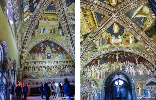 Capela dos Espanhóis ou Sala do Capítulo da Basílica de Santa Maria Novella, em Florença