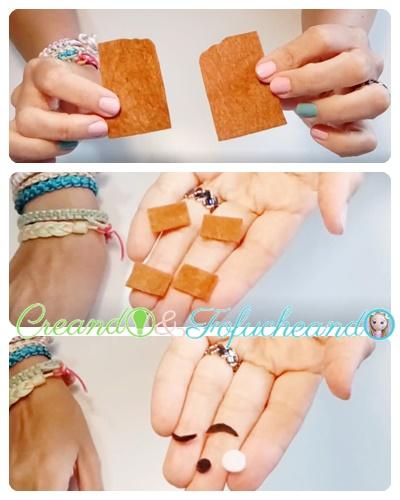 piezas-marcapaginas-chocolate-2-Ideas-con-Fieltro-para-el Regreso-a-Clases-portalápices-y-Marcapáginas-creandoyfofucheando