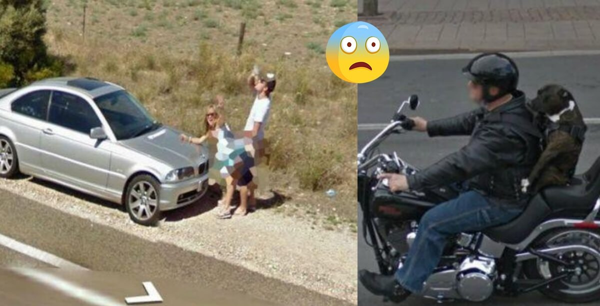 18 Hilariously Weird Moments Captured On Google Street View