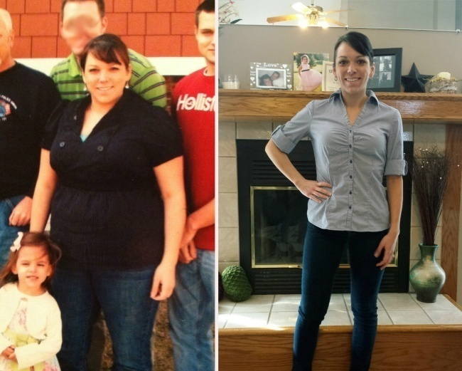 #15. When it comes to weight loss, nothing is impossible. - 23 Inspirational Before/After Photos Of People Who Can Say 'I Did It.'
