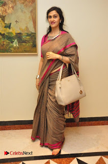 Aiswarya Rajinikanth Dhanush Standing on an Apple Box Launch Stills in Hyderabad  0043.jpg
