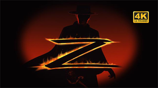 La máscara del Zorro (1998) 4K UHD 2160p Latino-Castellano-Ingles