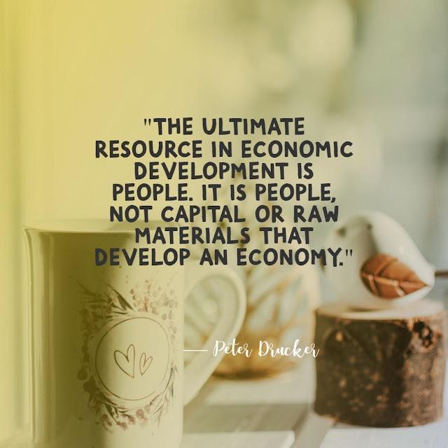 Quotes on economic development