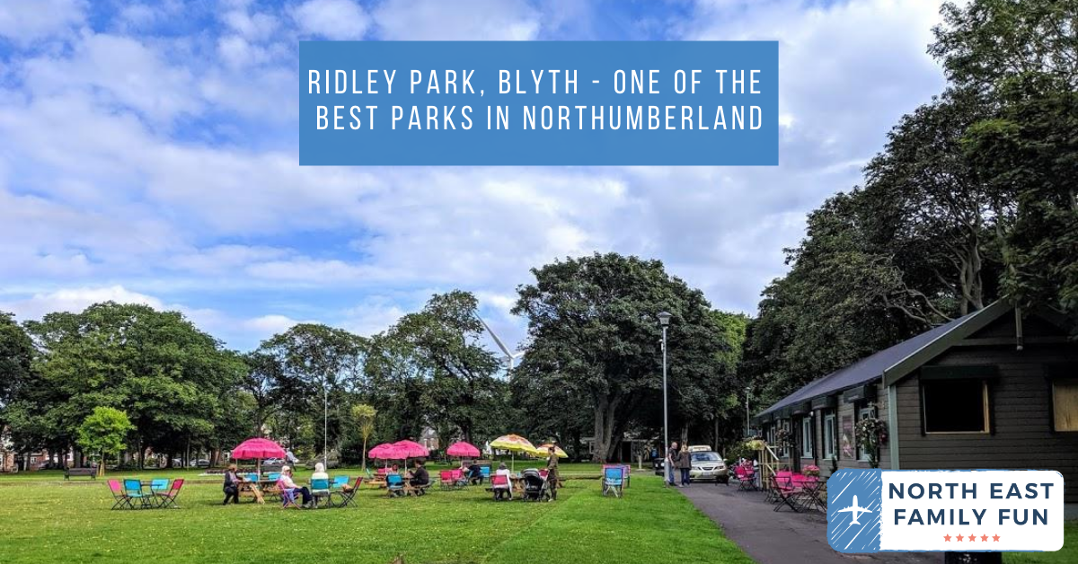 Ridley Park, Blyth - One of the best parks in Northumberland