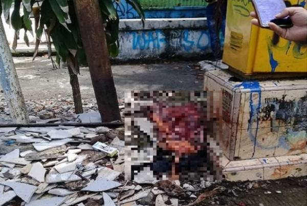 Ngerii! Tragedi Bom Bunuh Diri Gereja Katedral Makassar, Tubuh Pelaku Berserakan di Depan Katedral