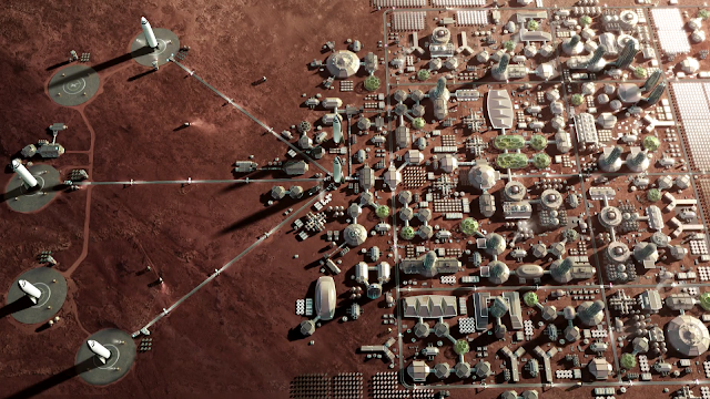 SpaceX Mars City - large
