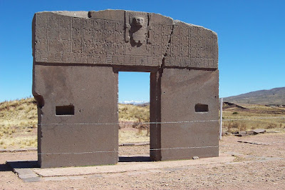 gate of the sun - star gate - bolivia