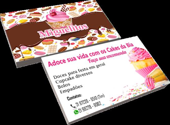 Cartão de visita Miguelitos