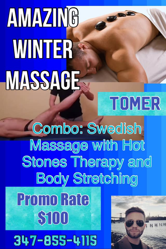 I Bet You Need A Massage~ I will Recommend Tomer