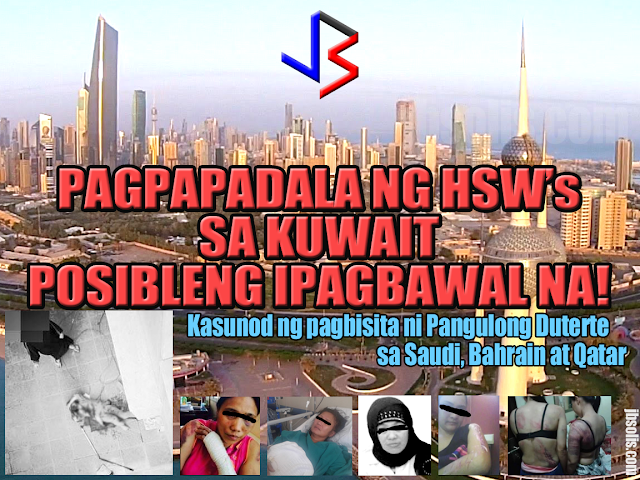 """Following disturbing reports of maltreatment by employers, the Philippines may send less Household Service Workers out to Kuwait—if not a total ban in the country, according to Labor Secretary Silvestre H. Bello III. """"Talagang problematic 'yung Kuwait eh. Ang daming complaints about how our HSW [household service workers] are maltreated. Hindi maganda ang pag-aalaga sa kanila, so we are seriously considering kung hindi man namin i-reduce, baka magkakaroon ng total ban,"""" Bello said in an interview with GMA News <IMAGE> This follows a very similar statement made during the President's state visit to Saudi Arabia. Amid incidents of abuses committed by employers and recruiters alike, the Labor Secretary said the Philippine government is seriously considering a ban on the deployment of domestic helpers to Saudi Arabia. Bello – who is with the entourage of President Rodrigo Duterte – said he had tasked labor attaches to strictly monitor the situation of OFWs already in the Middle East. He said labor attaches had been warned they would be replaced if they should fail to report incidents of abuses against Filipino workers, including domestic helpers. <IMAGE> As for implementation of the plan, Secretary Bello is expecting a delay because the government does not want to make it seem like a """"retaliatory move."""" """"Napag-isipan naman namin na 'pag ginawa namin 'yun, baka isipin ng Kuwaiti government na retaliatory move ito so medyo pinapatagal namin, para sa ganon na hindi ganon ang magiging impression nila"""" he said. It is not surprising to see images of cruelty in the Middle East. Many reports of foreign workers abused, raped or killed are heard of on a weekly basis. Many believe that the numbers are far more than what is being reported due in fact to the strict cultural practices in the said countries. A recent video, seen above, is a good example of abuse in the Middle East. It shows a foreign household worker, believed to be Ethiopian, dangling from the window of their apartme"""