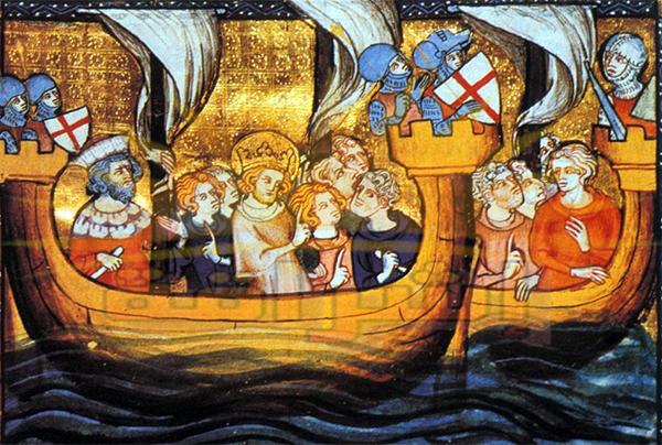 سقوط دمياط في ايدي الصليبيين