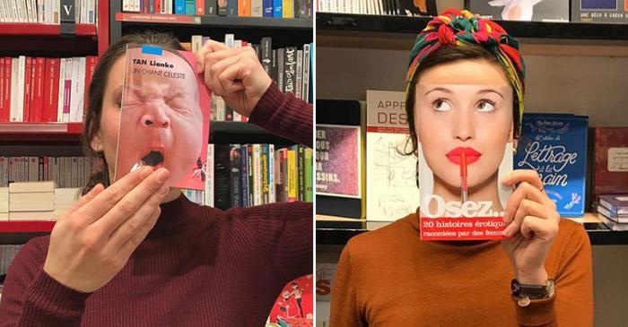 Livraria inova ao divulgar seus livros
