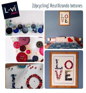 Upcycling buttons L-vi.com
