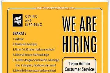 Lowongan Kerja Team Admin Customer Service Ammar Kids